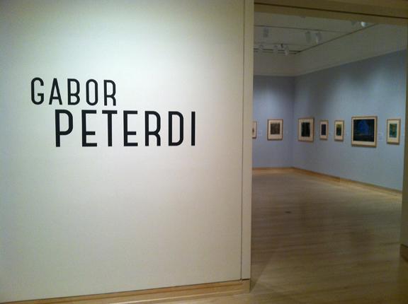 Exhibition Entrance, Peterdi