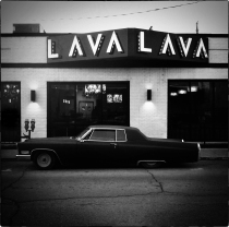 Low Rider, Broad Ripple Indianapolis Dusk, New Year's Day, 2015