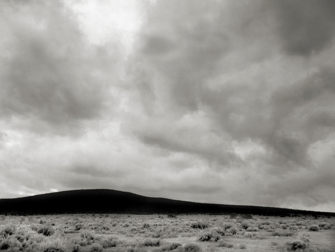 After the Storm, West of Rio Grande Gorge Near Taos.